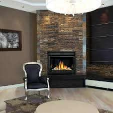 natural gas corner fireplace inserts direct vent insulation ventless
