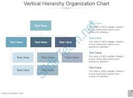 Powerpoint Hierarchy Templates Vertical Hierarchy Organization Chart Ppt Design Powerpoint