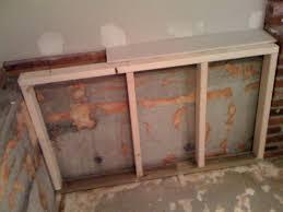 building knee wall in basement best approach