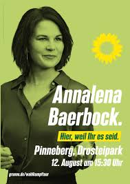 This is the first green candidate for chancellor. Annalena Baerbock In Pinneberg Grune Kv Pinneberg
