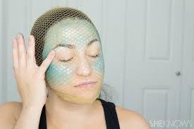 pin diy mermaid makeup step 4