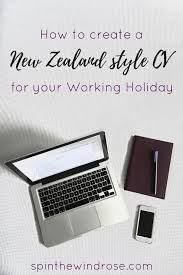 How To Write A Cv For A Working Holiday To New Zealand Working