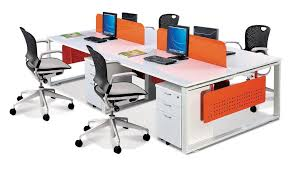 open office concept. office furniture singapore partition 28mm cubicle 5 open concept