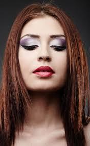 redhead eyeshadow