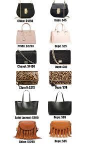 Chloe Designer Bags The Ultimate Designer Bag Dupes Guide Fashion Mash Elle