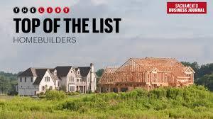 sacramento home builders. Simple Sacramento Top Of The List Homebuilders On Sacramento Home Builders C