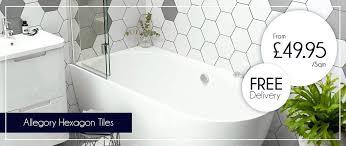 hexagon bathroom tile hexagon tiles hexagonal bathroom wall tiles uk