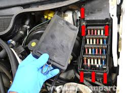 mercedes benz w124 outside air temperature sensor replacement you will need to remove the top fuse section of the fuse box