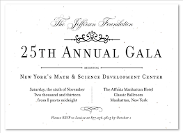 Formal Business Invitation Formal Gala Invitations On Seeded Paper Very Vip By Green