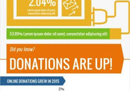 Charity Infographic 30 Unique Charity Percentage Donation