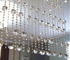 get quotations fushing 39 faux crystal heronsbill chandelier wedding bead strands for home party wedding decoration