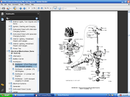 com colorized mustang wiring diagrams ebook screenshot of one of many component part illustrations