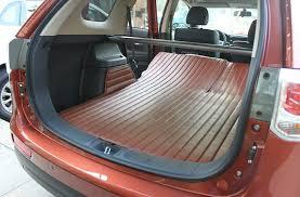 <b>Коврики в багажник</b> (<b>широкие</b>), кожаные для Mitsubishi Outlander ...