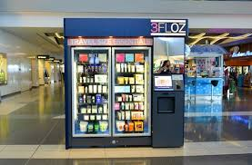 Airport Vending Machines Beauteous The Airport Vending Machine Dispensing Natural Beauty Products