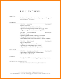Traditional Resume Examples Traditional Resume Template 28 Images
