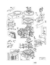 Diagram briggs and stratton parts diagram pertaining to briggs and stratton 5