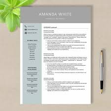 Resume Template For Word No 001