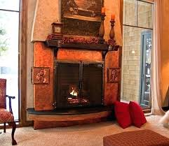 copper fireplace surround design residence fireplace doors screens copper fireplace surround cleaning