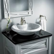 bowl bathroom sinks. Round Vessel Sinks In White And Dark Tones Bowl Bathroom N