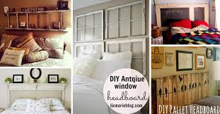 50+ Outstanding DIY Headboard Ideas To Spice Up Your Bedroom!  Cute DIY  Projects