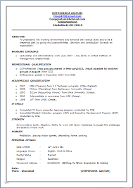 Sample Resume Sales Manager Fmcg Sample Document Resume