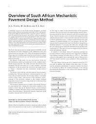 Pavement Design South Africa Pdf Overview Of South African Mechanistic Pavement Design
