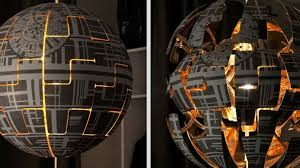 Ikea Exploding Light How To Transform An Ikea Lamp Into A Personal Death Star