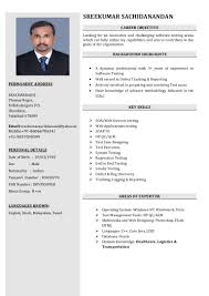 Qa Tester Resume Sample Resume samples for experienced software testing professionals 76