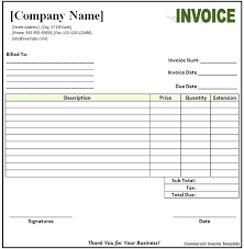 Open Office Template Invoice Office Invoice Template Madebyforay Co