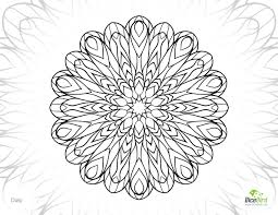 Small Picture Daisy printable color pages for adults free adult coloring pages