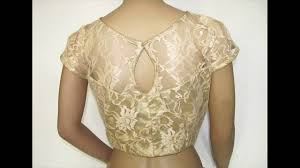 Net Saree Blouse Neck Designs Youtube