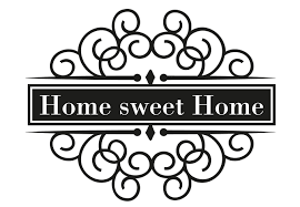 Small Picture Home sweet Home 3 Wall sticker wall artcom