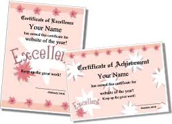 Kids Certificate Border Cute Certificate Templates For Kids