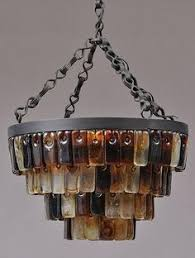 gorgeous recycled glass chandelier by kathleen plate of smart glass and christopher moulder great pinterest glass art r91