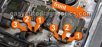 part 1 how to test the 1 8l vw ignition control module and cop ignition coil circuit descriptions
