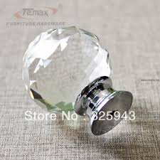 round glass cabinet knobs. 2x40mm Clear Round Glass Cabinet Drawer Crystal Knobs And Handles Regarding Sizing 1000 X S