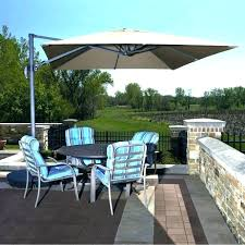 12 ft patio umbrella y4742337 good coolaroo 12 ft round cantilever patio umbrella instructions appealing 12