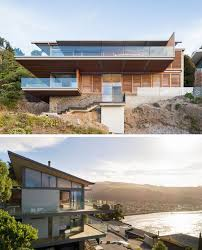 Steep Hillside Home Designs This Hillside Home In New Zealand Was Designed To Capture