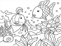 Sea Coloring Pages Under The Sea Coloring Pages Deep Sea Creature
