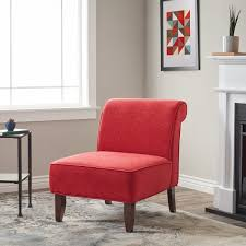 red accent chairs for living room. Laurel Creek Sadie Slipper Red Accent Chair Chairs For Living Room L