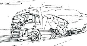 logging coloring pages logging semi truck coloring pages throughout inspirations 9