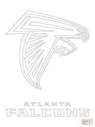 stylish page stylish design atlanta falcons coloring pages logo page free