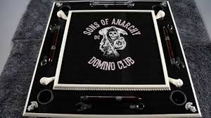 sons of anarchy domino club custom domino table you rh you com custom domino tables houston