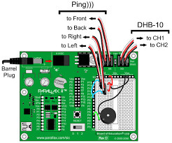 connect and test the arlo boe ping sensors learn parallax com wiring errors can damage the ping sensors and or your basic stamp do not turn power back on until you have double checked all the connections in this