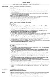 Electrical Engineering Resume Associate Electrical Engineer Resume Samples Velvet Jobs 10