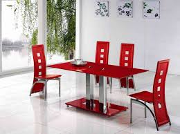 dining table red dining room table  pythonet home furniture