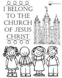 I Belong To The Church Of Jesus Christ Flip Chart Behold Your Little Ones Lesson 25 I Belong To The Church Of