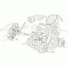 Lego Nexo Knights Kleurplaat Lance Kids N Fun De 29 Ausmalbilder Von