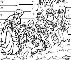 nativity coloring sheet nativity coloring pages for kids