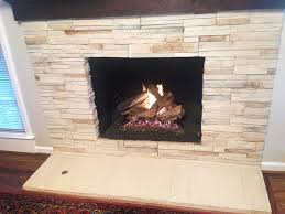 great looking installed wood fireplace in indy